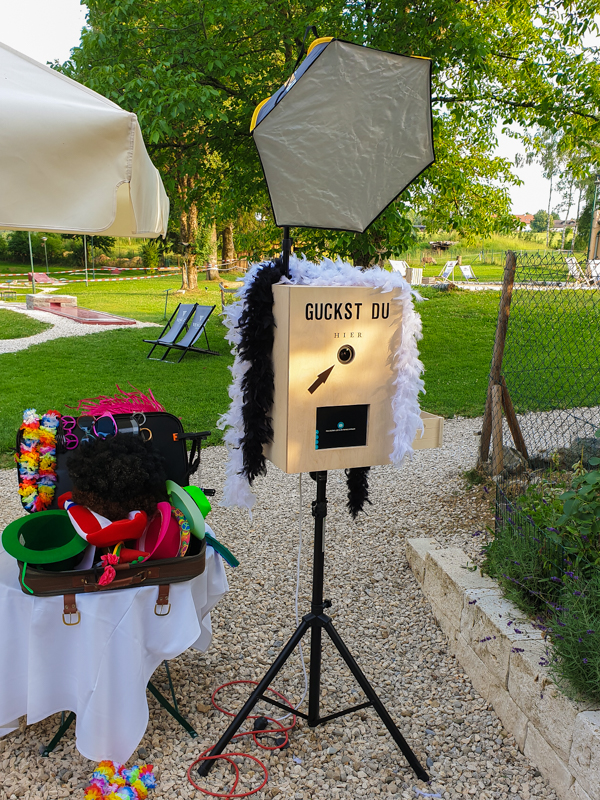 Fotobox mit Accesiores